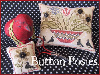 click here to view larger image of Button Posies (chart)