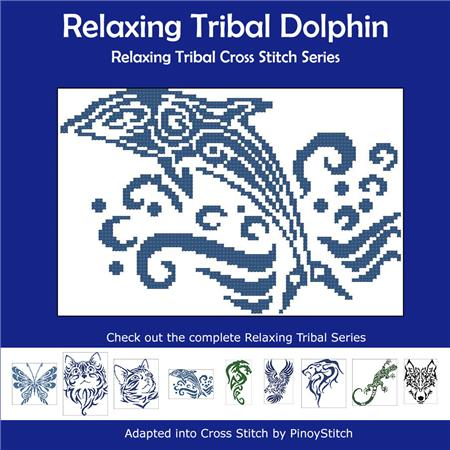 click here to view larger image of Relaxing Tribal Dolphin (chart)