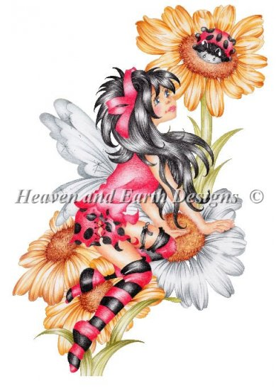click here to view larger image of Lady Bug Fairie (chart)