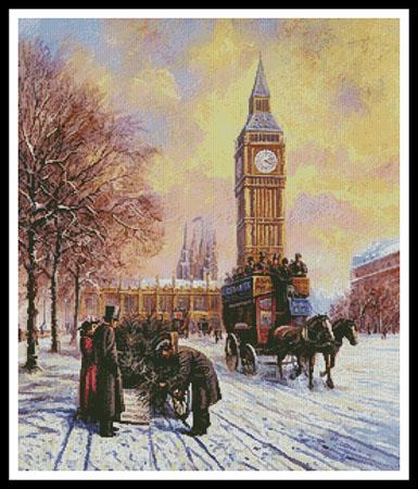 click here to view larger image of Big Ben At Winter  (Kevin Walsh) (chart)