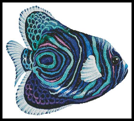 click here to view larger image of Green Blue Purple Fish (chart)