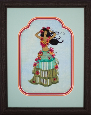 click here to view larger image of Leilani the Hula Dancer (chart)