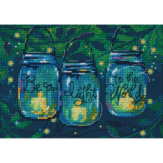 click here to view larger image of Be A Light (counted cross stitch kit)