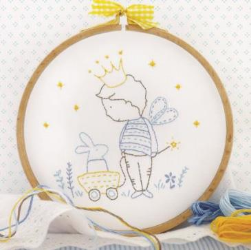 click here to view larger image of Tamar - My Private Kingdom (stamped cross stitch kit)