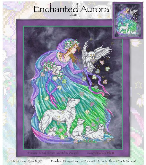 click here to view larger image of Enchanted Aurora (chart)