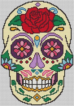 click here to view larger image of Sugar Skull Diamond (chart)