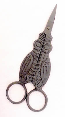 click here to view larger image of Primitive Owl Scissors (accessory)