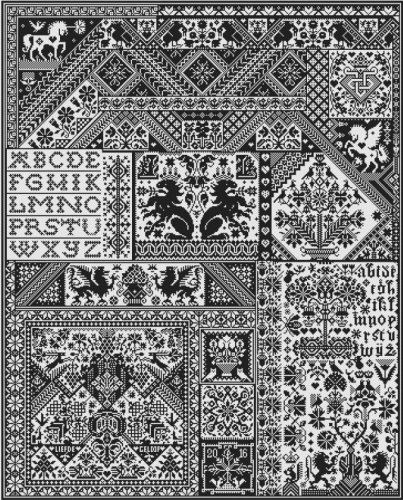 Death By Cross Stitch - click here for more details about chart