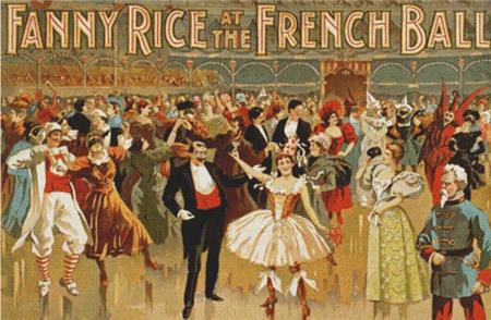 click here to view larger image of Vintage French Ball Poster (chart)