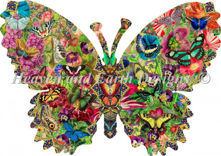 click here to view larger image of Supersized Butterfly Menagerie Max Color (chart)