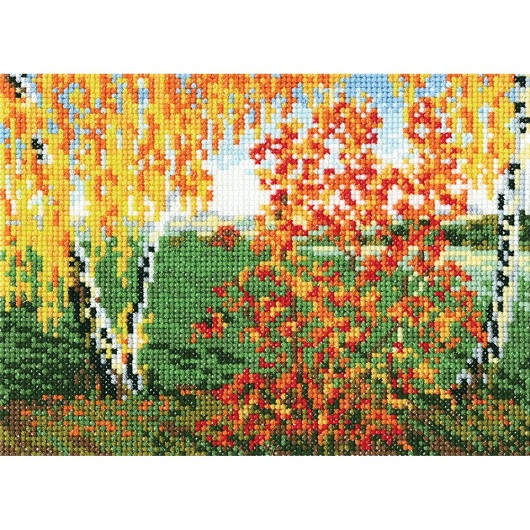 click here to view larger image of Autumn (counted cross stitch kit)