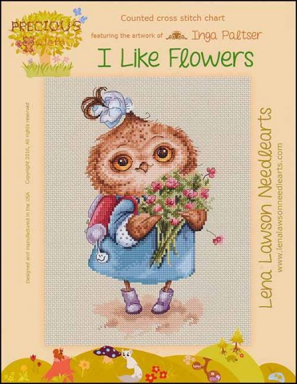 click here to view larger image of I Like Flowers (chart)
