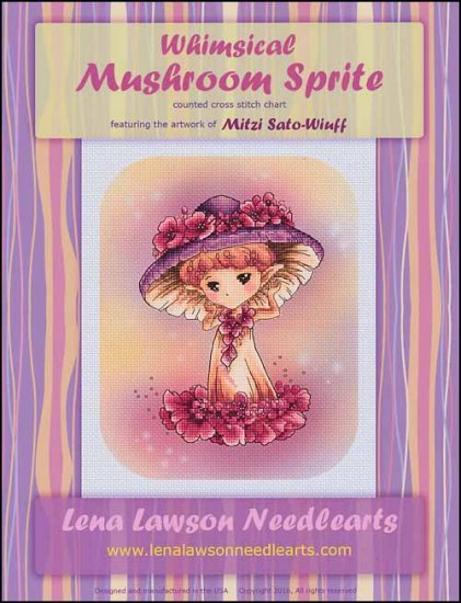 click here to view larger image of Whimsical Mushroom Sprite (chart)