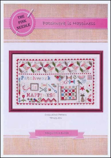 click here to view larger image of Patchwork Is Happiness (chart)