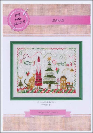 click here to view larger image of Santa (chart)