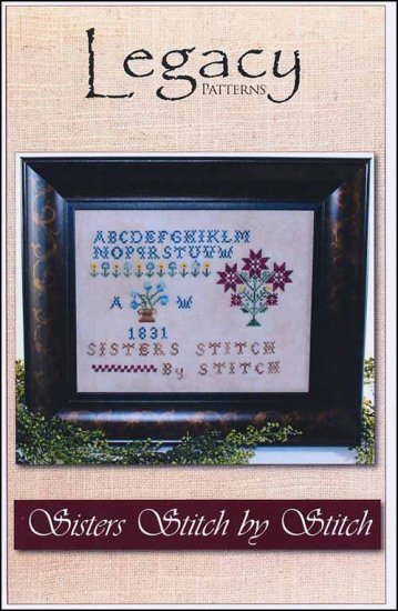 click here to view larger image of Sisters Stitch By Stitch (chart)