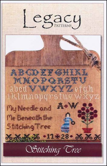 click here to view larger image of Stitching Tree (chart)