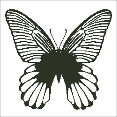 click here to view larger image of Butterfly Silhouette 1 (chart)
