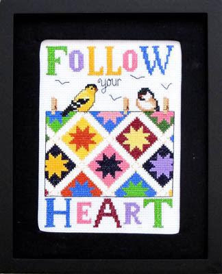 click here to view larger image of Follow Your Heart (chart)