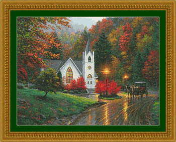 click here to view larger image of Autumn Chapel (chart)