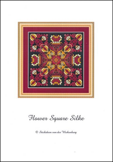 click here to view larger image of Flower Square Silke (chart)
