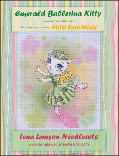click here to view larger image of Emerald Ballerina Kitty (chart)