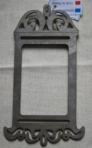 click here to view larger image of Birdcage Frame - Metallic Grey (frame (ready made))