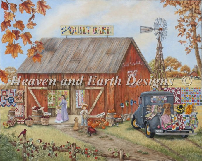 click here to view larger image of Mini Quilt Barn (chart)