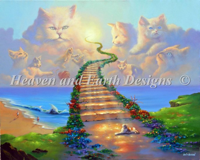 click here to view larger image of Mini All Cats Go To Heaven (chart)