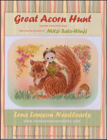 click here to view larger image of Great Acorn Hunt (chart)
