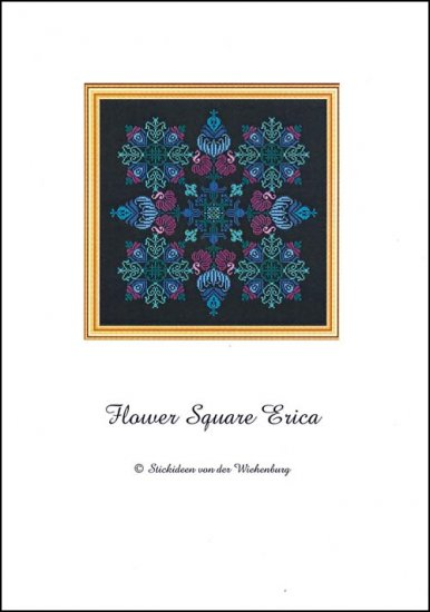 click here to view larger image of Flower Square Erica (chart)