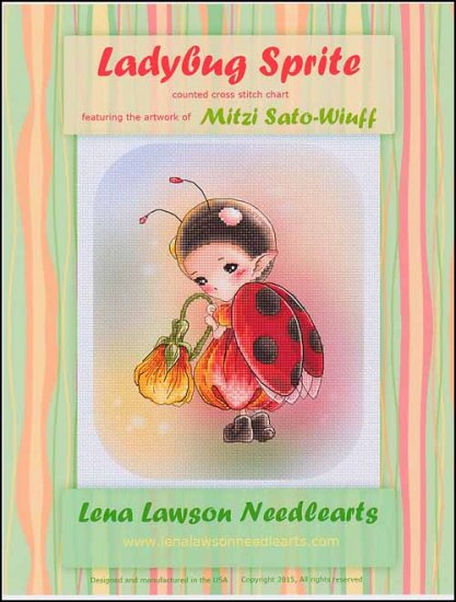 click here to view larger image of Ladybug Sprite (chart)