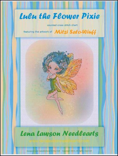 click here to view larger image of Lulu The Flower Pixie (chart)