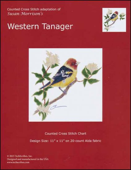 click here to view larger image of Western Tanager (chart)