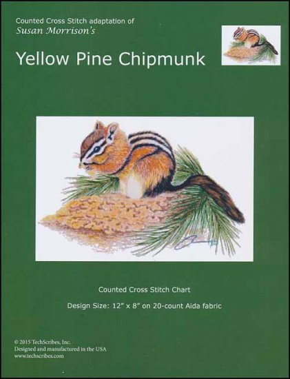 click here to view larger image of Yellow Pine Chipmunk (chart)