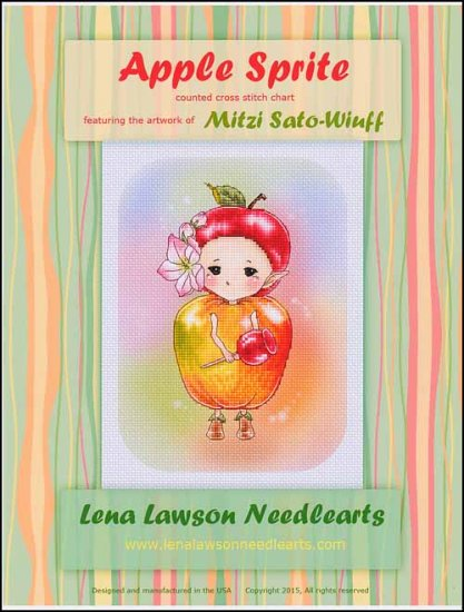 click here to view larger image of Apple Sprite - (Mitzi Sato-Wiuff) (chart)