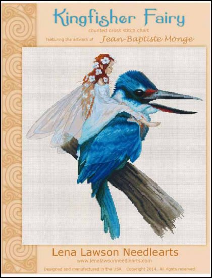 click here to view larger image of Kingfisher Fairy - (Jean-Baptiste Monge) (chart)