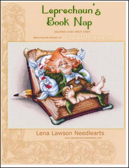 click here to view larger image of Leprechauns Book Nap (chart)