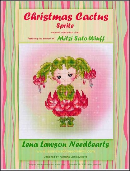 click here to view larger image of Christmas Cactus Sprite (chart)