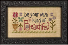 click here to view larger image of Be Your Own Kind of Beautiful - Snippet (chart)