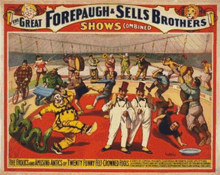 click here to view larger image of Adam Forepaugh and Sells Brothers, The (chart)
