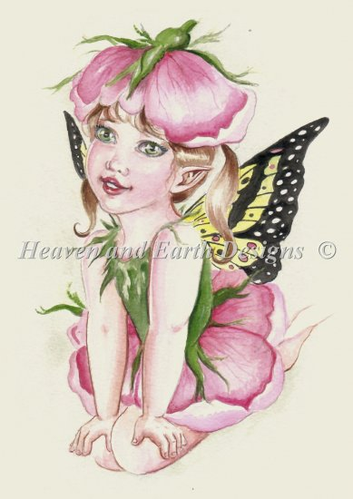 click here to view larger image of Baby Rose Fairy (chart)