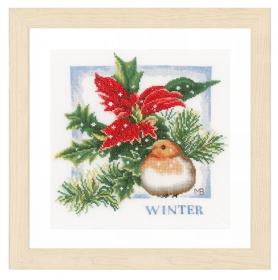click here to view larger image of Winter (counted cross stitch kit)
