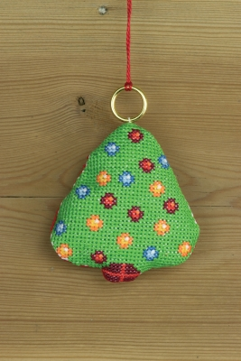click here to view larger image of Christmas Tree Ornament (counted cross stitch kit)