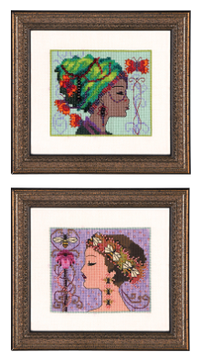 click here to view larger image of Bella Butterfly and Bella Bee - Bella Portraits (chart)