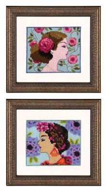 click here to view larger image of Bella Rose and Bella Hydrangea - Bella Portraits (chart)