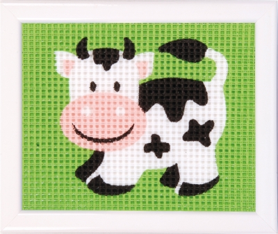 click here to view larger image of Cow (needlepoint)