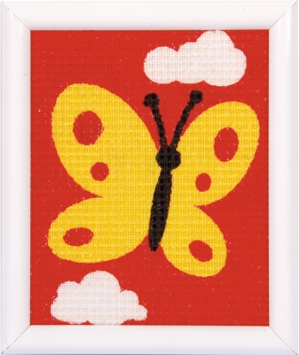click here to view larger image of Yellow Butterfly (needlepoint)