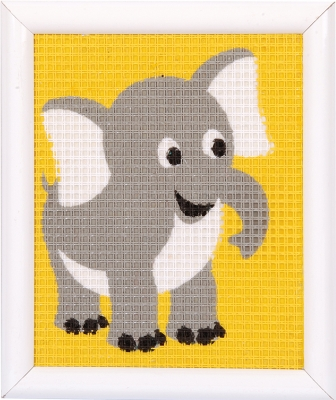 click here to view larger image of Elephant (needlepoint)