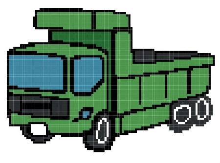 click here to view larger image of Green Truck (chart)